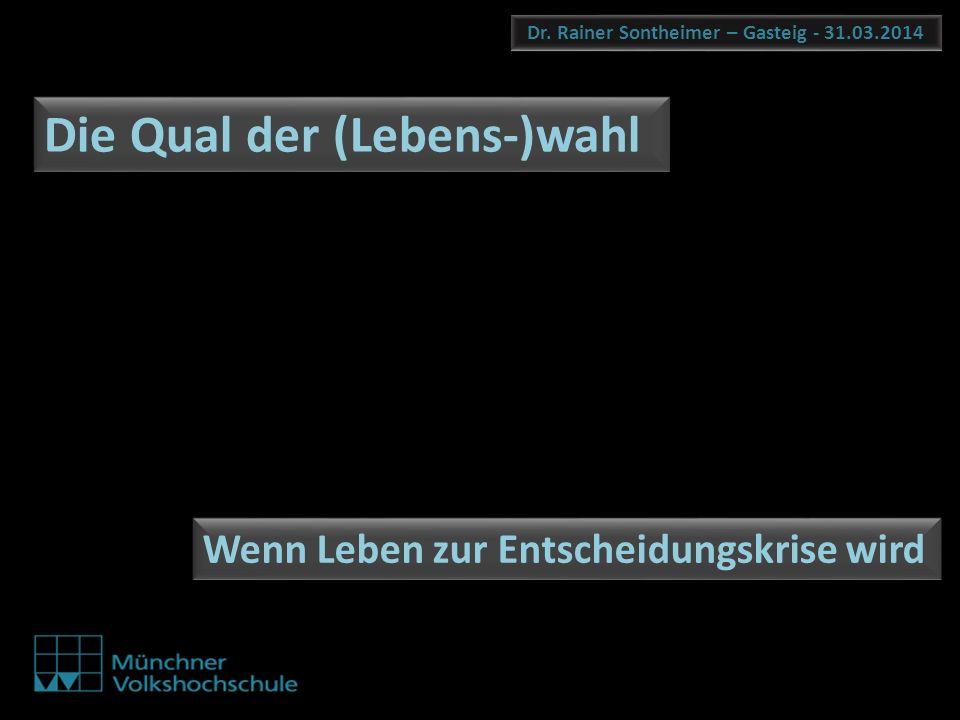 Dr. Rainer Sontheimer – Gasteig - 31.03.2014
