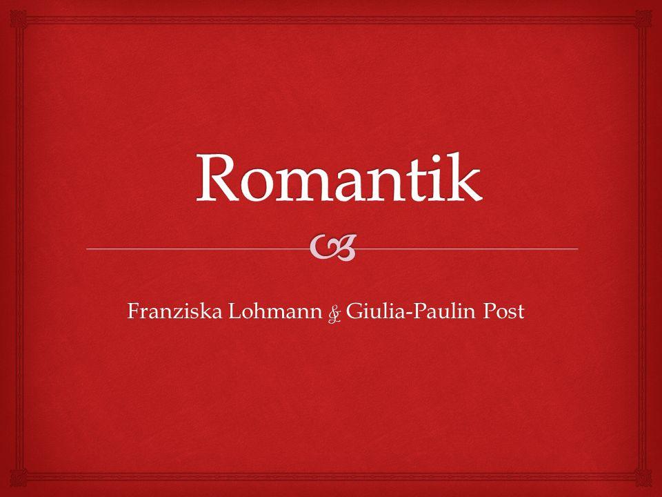 Franziska Lohmann & Giulia-Paulin Post
