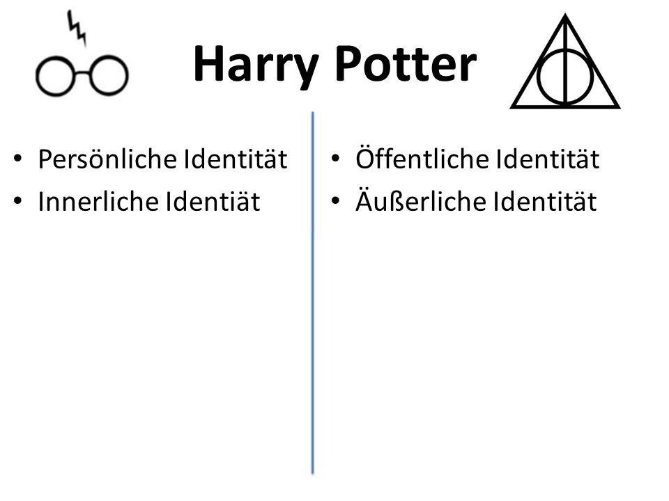 Harry Potter Persönliche Identität Innerliche Identiät