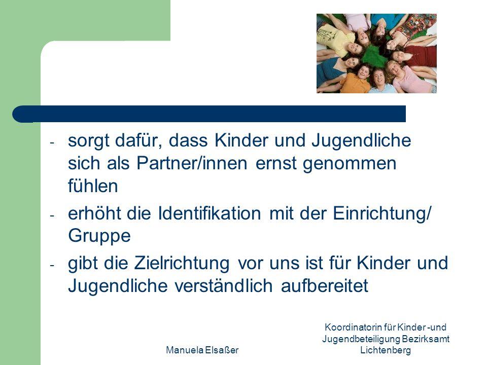 Koordinatorin für Kinder -und Jugendbeteiligung Bezirksamt Lichtenberg