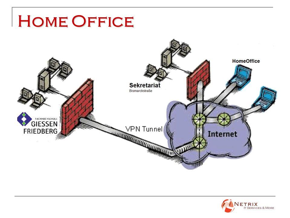 Home Office Mitarbeiter arbeitet außerhalb (z.B von zu Hause)