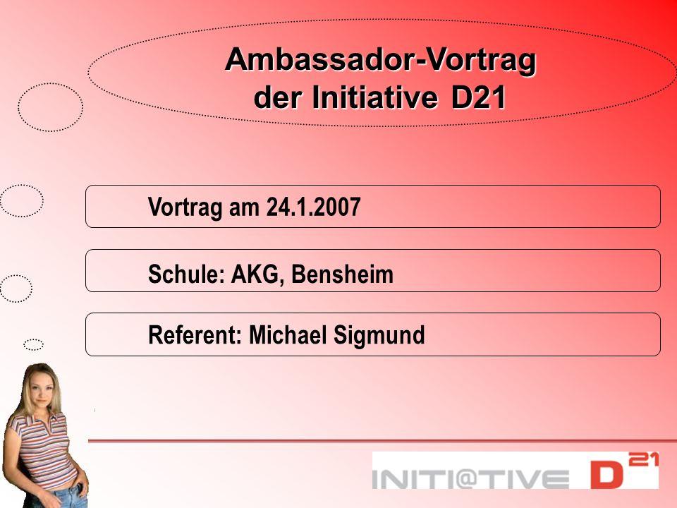 Ambassador-Vortrag der Initiative D21