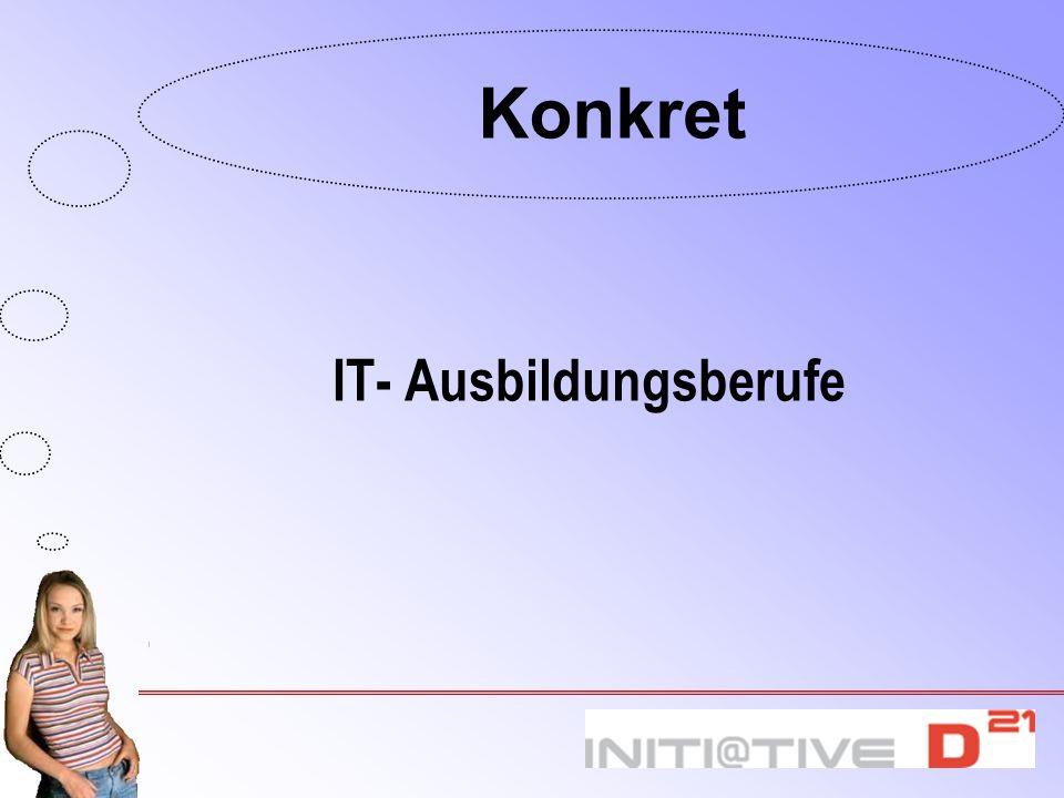 IT- Ausbildungsberufe