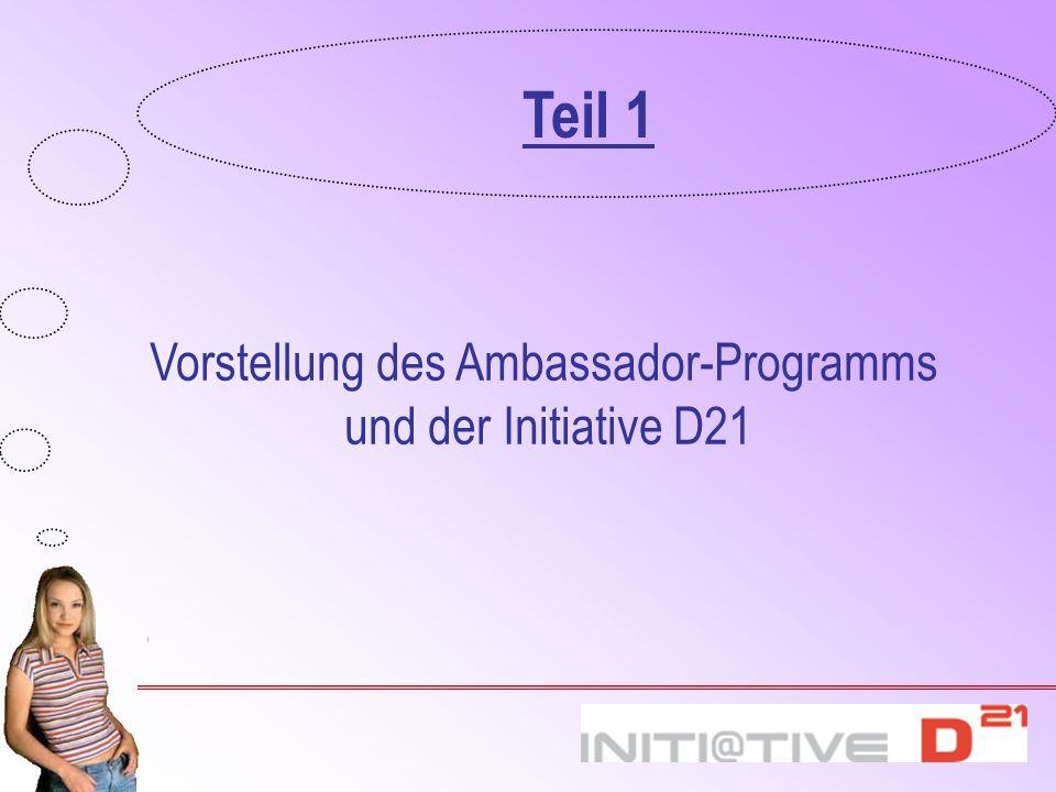 Vorstellung des Ambassador-Programms