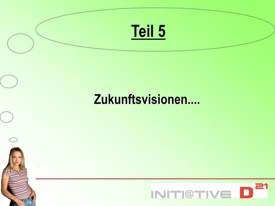 Teil 5 Zukunftsvisionen.... 6.1