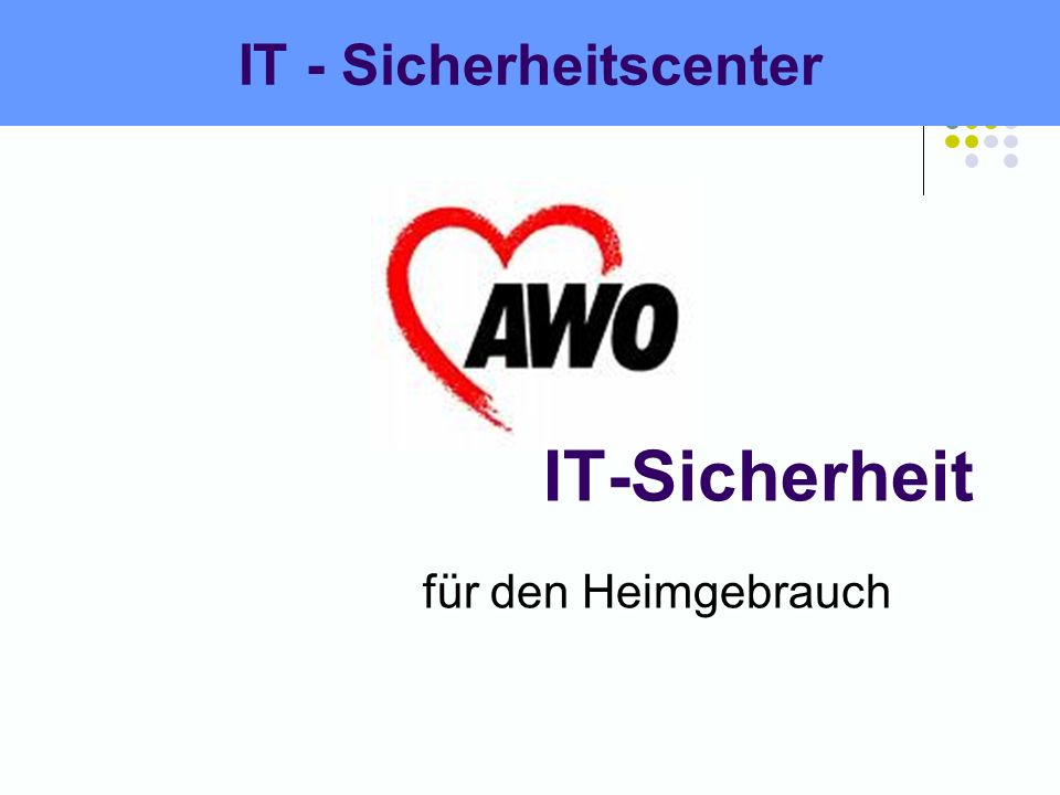 IT - Sicherheitscenter