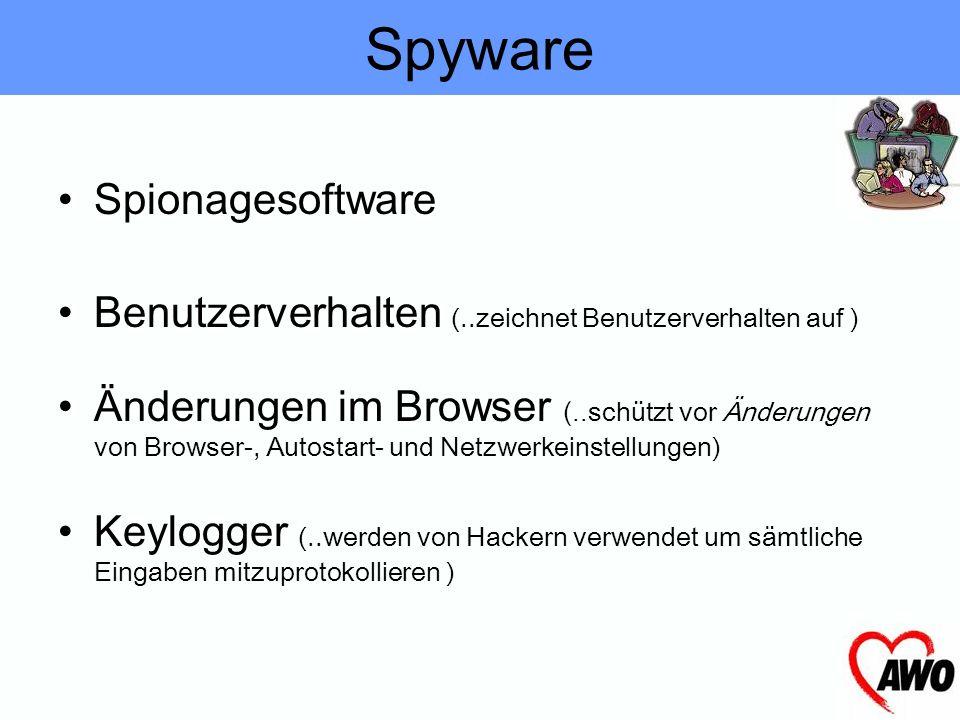 Spyware Spionagesoftware