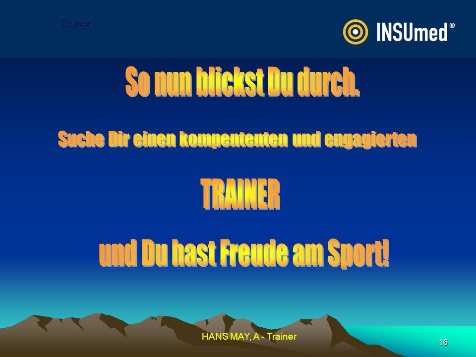 und Du hast Freude am Sport!