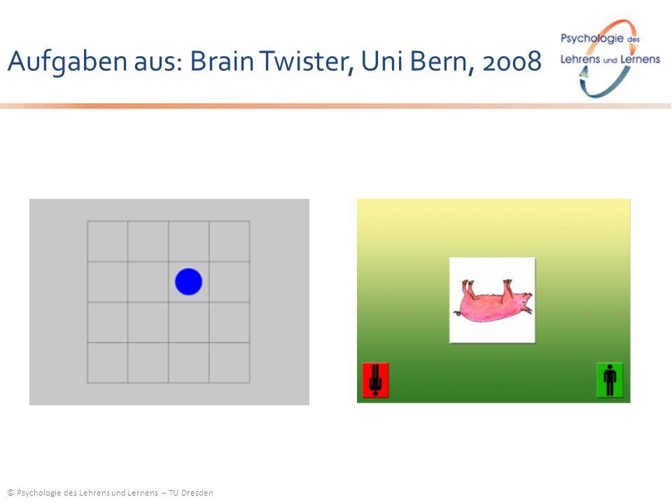 Aufgaben aus: Brain Twister, Uni Bern, 2008