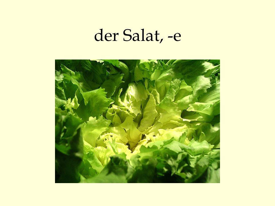 der Salat, -e