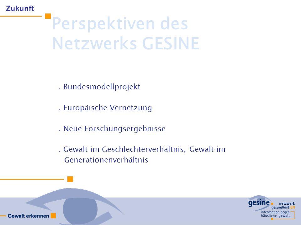 Perspektiven des Netzwerks GESINE