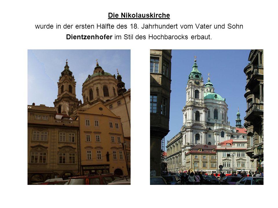 Die Nikolauskirche wurde in der ersten Hälfte des 18