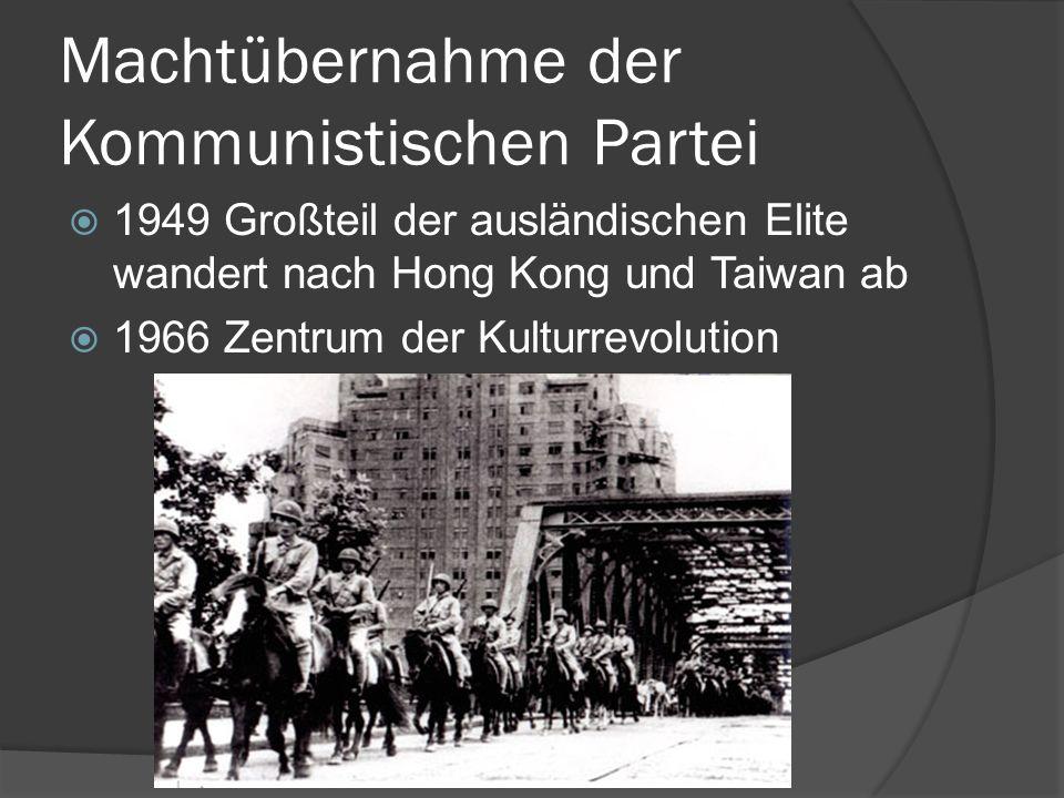 Machtübernahme der Kommunistischen Partei