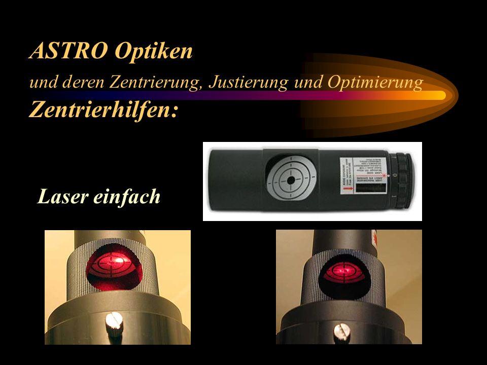 ASTRO Optiken Zentrierhilfen: Laser einfach