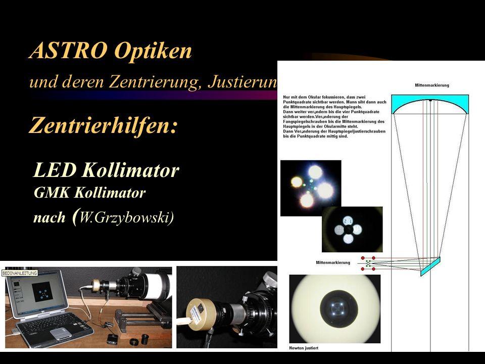 ASTRO Optiken Zentrierhilfen: LED Kollimator