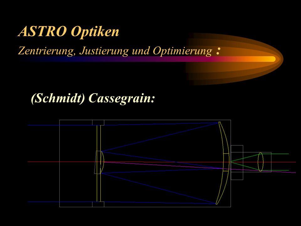 ASTRO Optiken (Schmidt) Cassegrain: