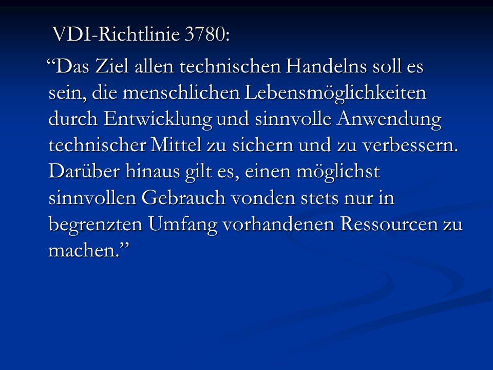 VDI-Richtlinie 3780: