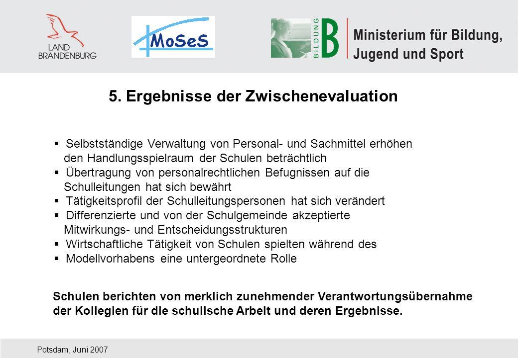 5. Ergebnisse der Zwischenevaluation