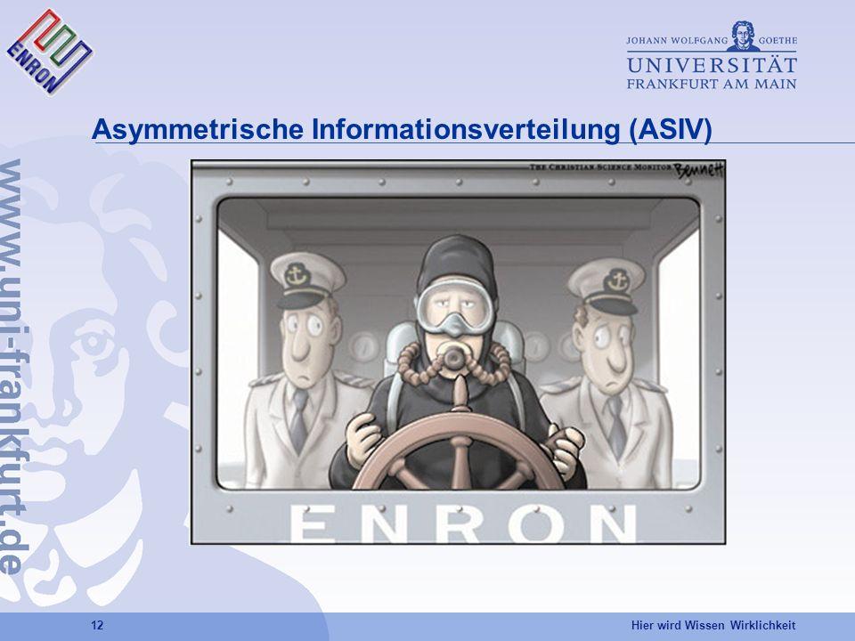 Asymmetrische Informationsverteilung (ASIV)