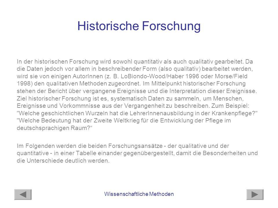 Historische Forschung