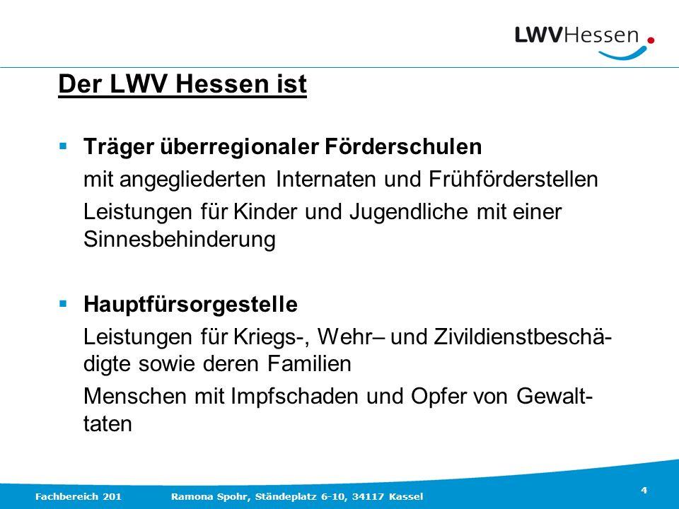 Der LWV Hessen ist Träger überregionaler Förderschulen