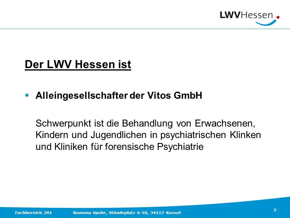 Der LWV Hessen ist Alleingesellschafter der Vitos GmbH