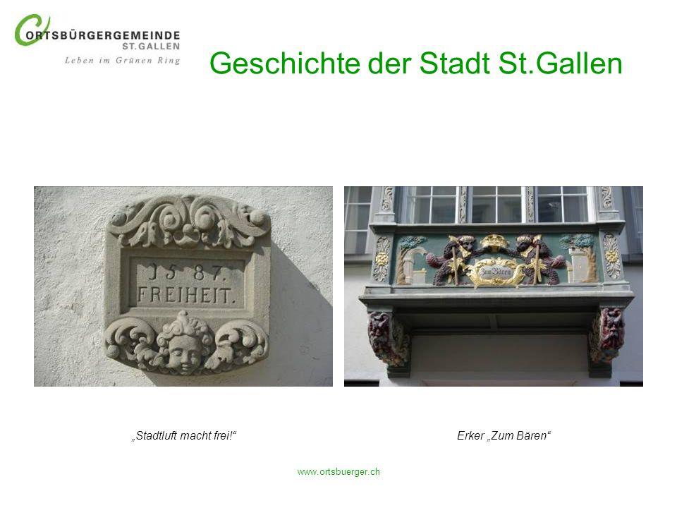 Geschichte der Stadt St.Gallen
