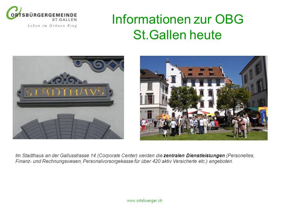 Informationen zur OBG St.Gallen heute