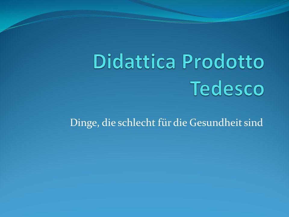 Didattica Prodotto Tedesco