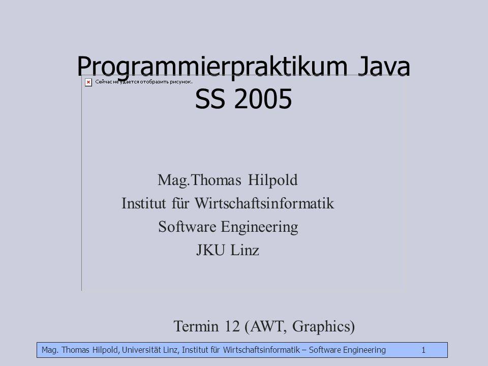 Programmierpraktikum Java SS 2005