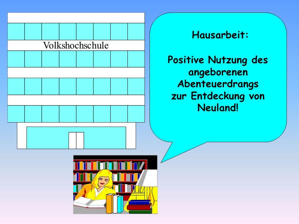 Hausarbeit: Volkshochschule.