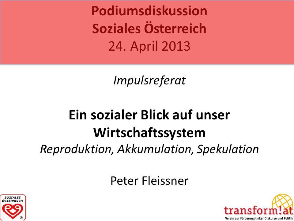 Podiumsdiskussion Soziales Österreich 24