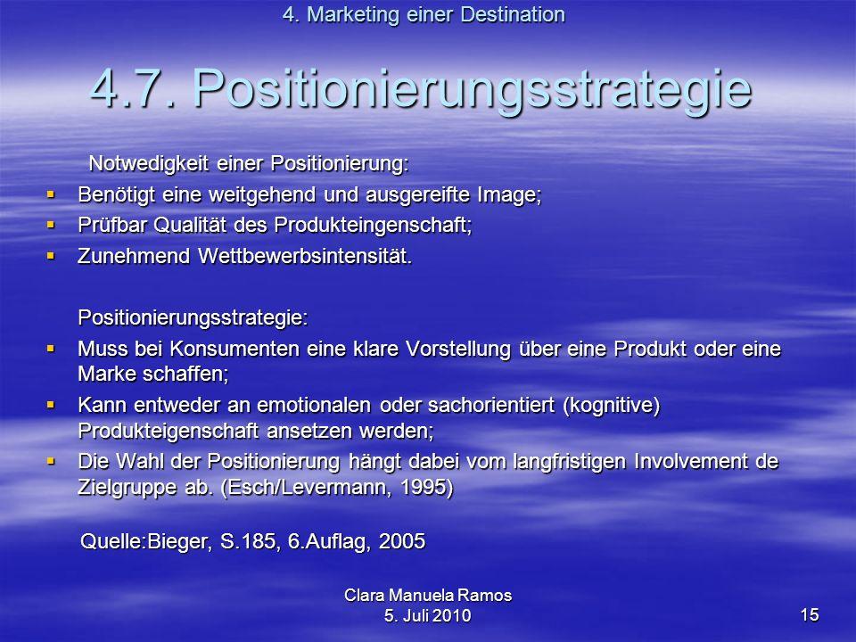 4.7. Positionierungsstrategie