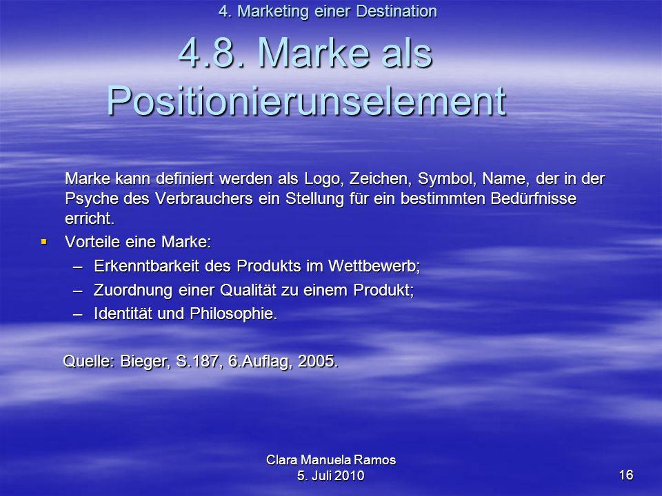 4.8. Marke als Positionierunselement