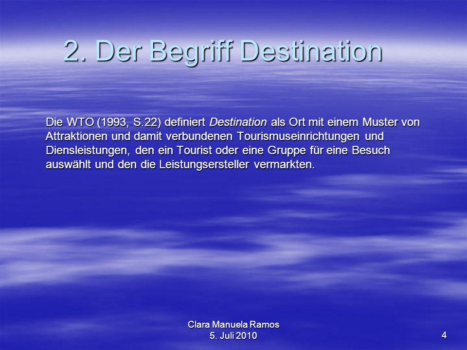 2. Der Begriff Destination