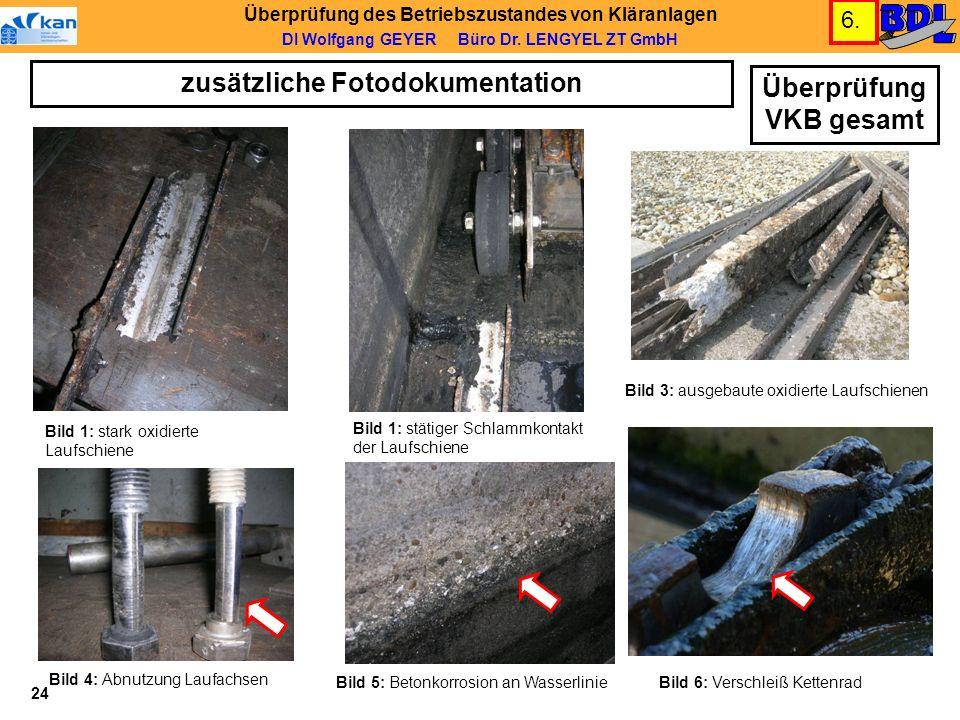 zusätzliche Fotodokumentation Überprüfung VKB gesamt