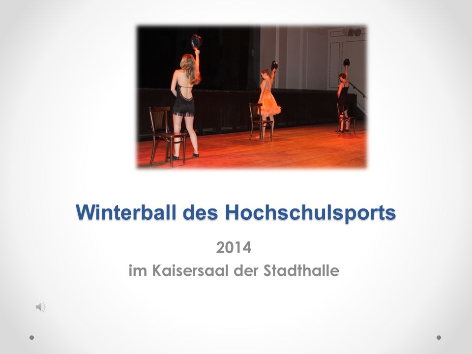 Winterball des Hochschulsports