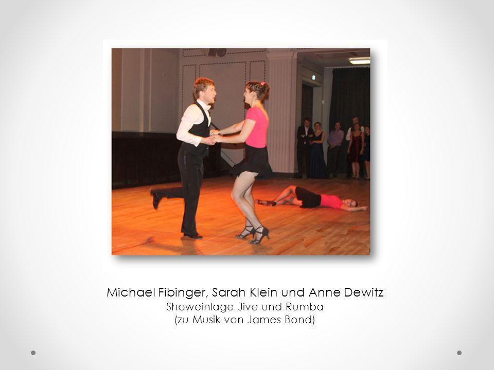 Michael Fibinger, Sarah Klein und Anne Dewitz