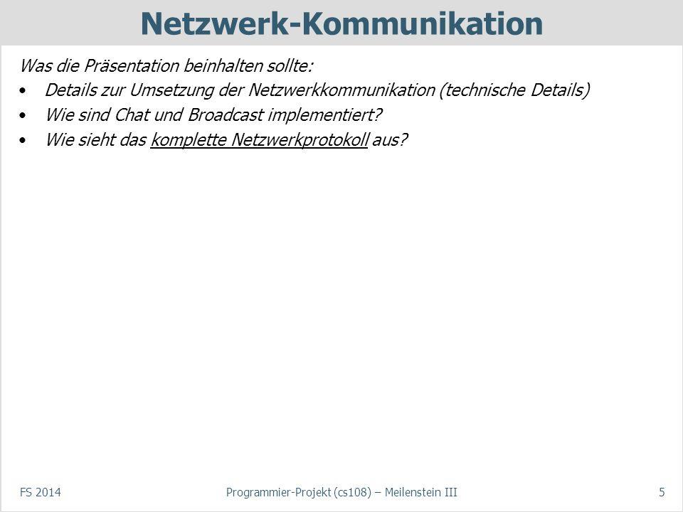 Netzwerk-Kommunikation