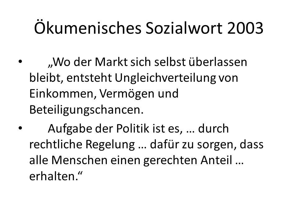 Ökumenisches Sozialwort 2003