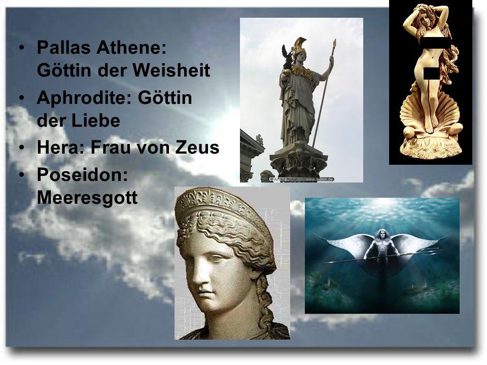 Pallas Athene: Göttin der Weisheit