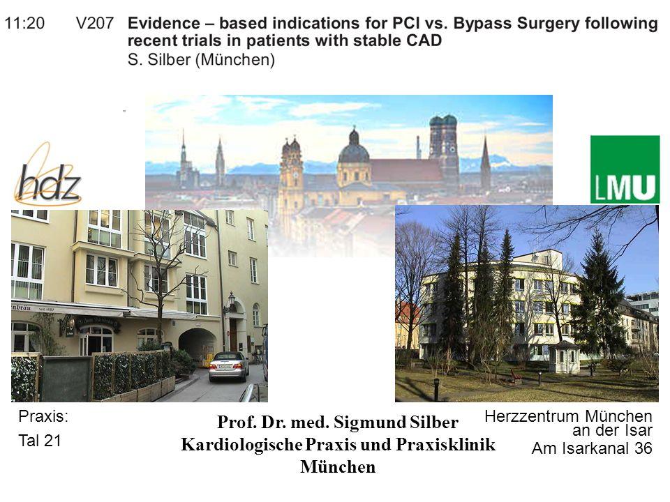 Prof. Dr. med. Sigmund Silber Kardiologische Praxis und Praxisklinik