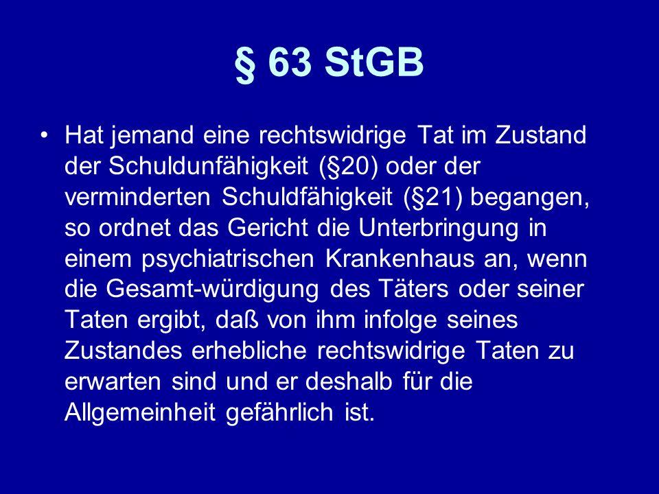 § 63 StGB