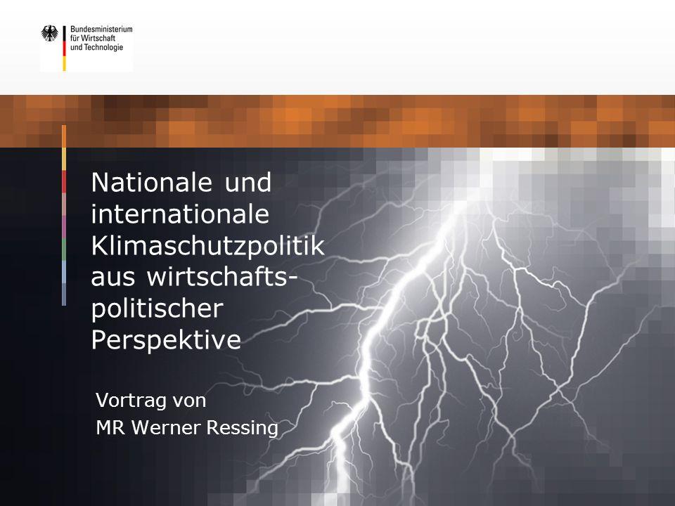 Vortrag von MR Werner Ressing