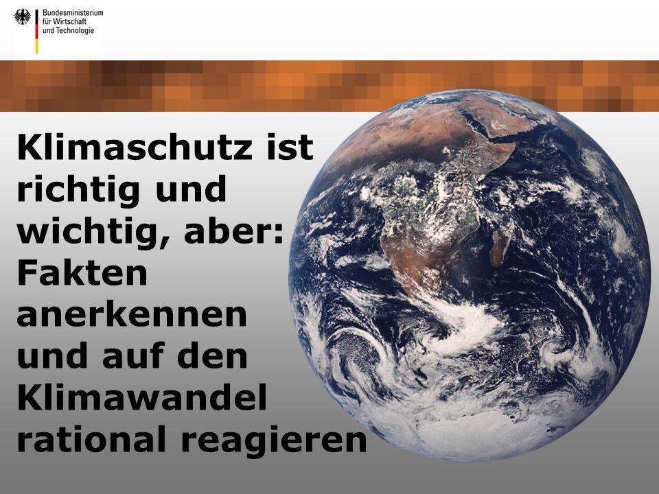 Klimaschutz ist richtig und