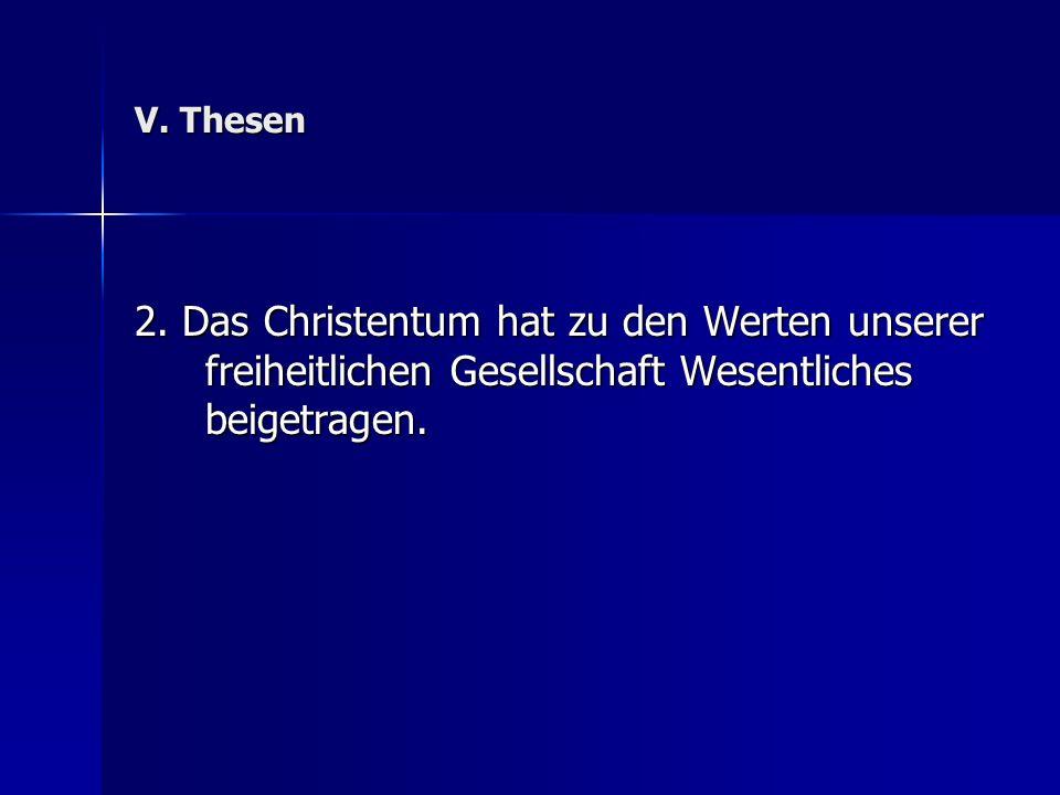 V. Thesen 2.