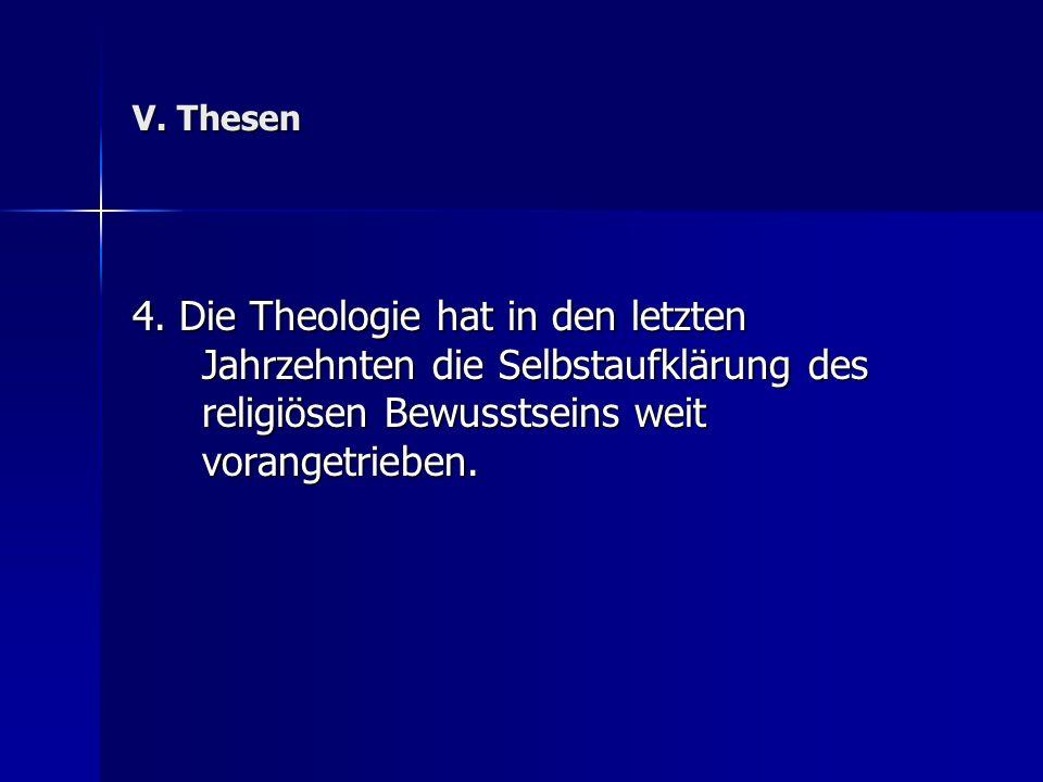 V. Thesen 4.