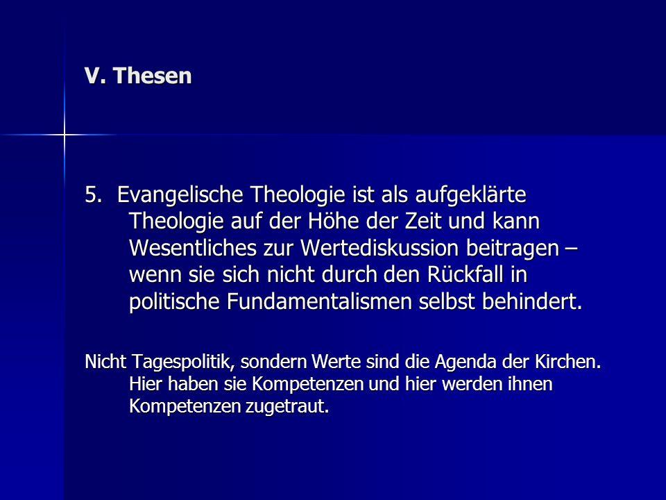 V. Thesen