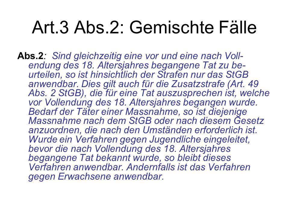 Art.3 Abs.2: Gemischte Fälle