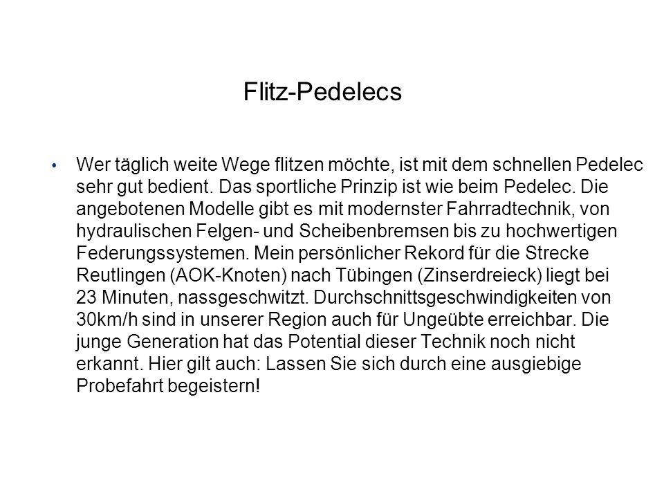 Flitz-Pedelecs